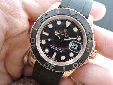 [NEW] Rolex YACHT-MASTER 116655 Everose Gold Full Set