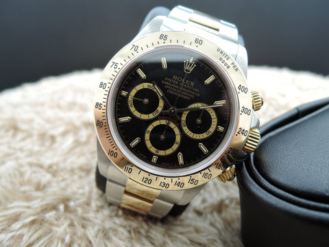 1998 Rolex DAYTONA 16523 2-Tone with Original Black Dial