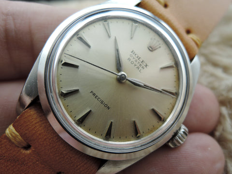 1962 Rolex OYSTER ROYAL 6426 Original Silver Dial