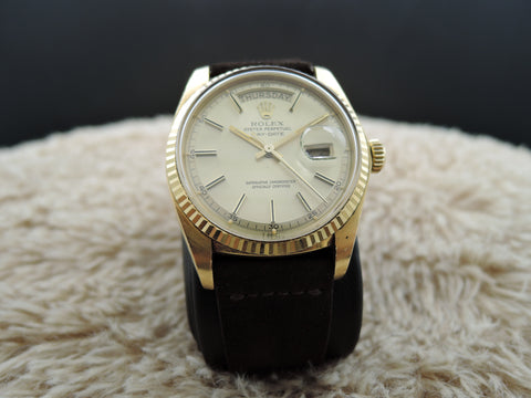 1977 Rolex DAY-DATE 1803 18K Gold with Original Gold Dial (3 Hallmarks)