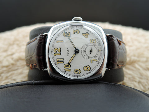 1932 Rolex SPORTING with Original Enamel White Dial with Arabic Numerals