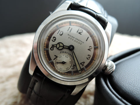 1943 Rolex Oyster EVEREST 2280 with 3-Tone Colour Dial and Benz Hands