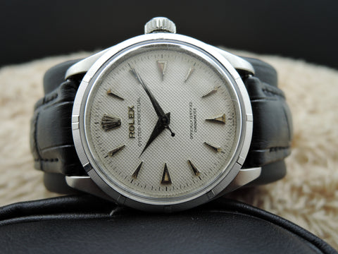 1955 Rolex BUBBLEBACK 6285 with Honeycomb Dial