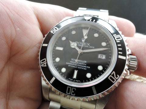 2007 Rolex SEA DWELLER 16600 Full Set (Z Serial) with Box and PAPER Like New