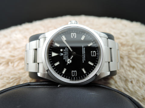 2005 Rolex EXPLORER 1 114270 Black Dial with BOX and Paper [BRAND NEW]
