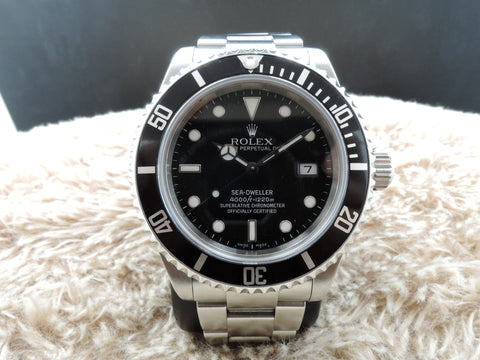 2008 Rolex SEA DWELLER 16600 Full Set with Box and Paper