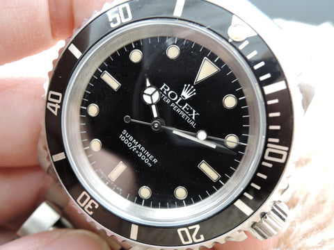 1991 Rolex SUBMARINER (No Date) 14060 with Black Bezel