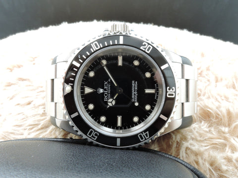 1995 Rolex SUBMARINER (T25 Dial) 14060 with Black Bezel