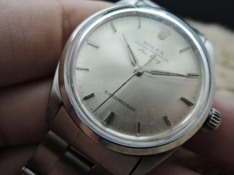 "1953 Rolex AIR KING 5500 with Original ""SUPER PRECISION"" Dial, RARE"