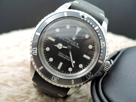 1962 SUBMARINER 5513 Meter First Matt Dial with Grey Bezel