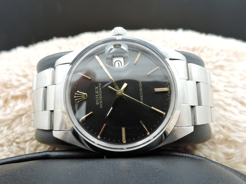 1974 Rolex OYSTER DATE 6694 Original Gilt Dial Gold Markers with Paper