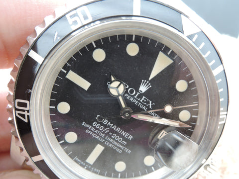 1979 Rolex SUBMARINER 1680 Matt Dial with Box and Paper