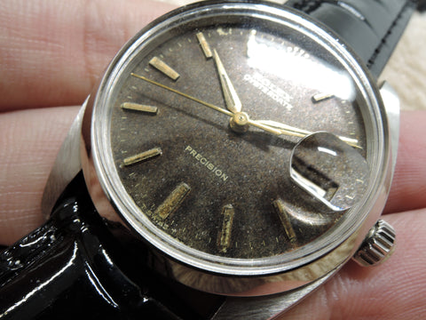 1959 Rolex OYSTER DATE 6694 Original Tropical Gilt Dial with Gold Markers