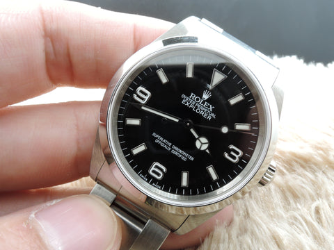 2000 Rolex EXPLORER 1 14270 Black Dial with Box and Papers