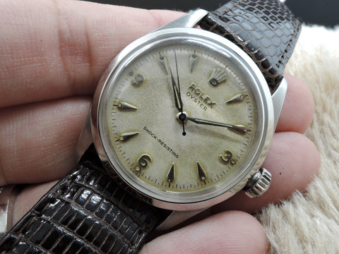 1952 Rolex OYSTER 6282 with Original Matt White Explorer Dial