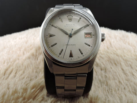 1954 Rolex OYSTERDATE 6294 Original Creamy Dial with RED/BLACK Date
