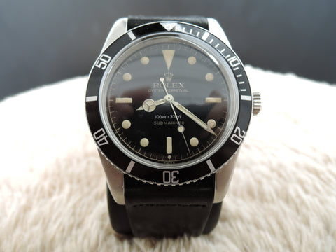 1962 SUBMARINER 5508 with Original Glossy Gilt Exclamation Dial