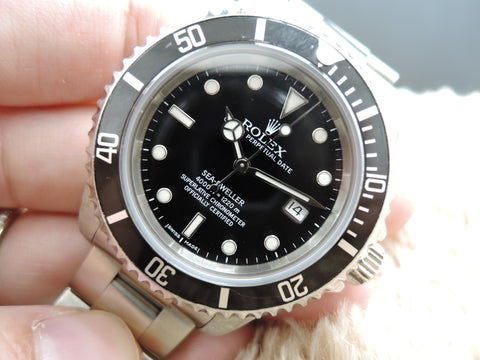 1999 Rolex SEA DWELLER 16600 with Mint Condition SEL