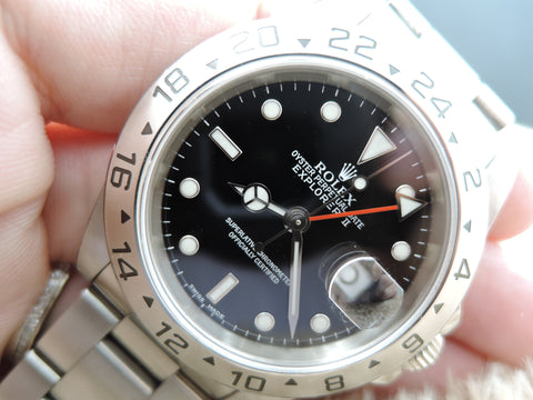 1995 Rolex EXPLORER 2 16570 with Black Dial