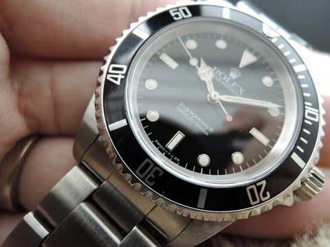 1991 Rolex SUBMARINER 14060 (T25 Dial) with Box and Paper