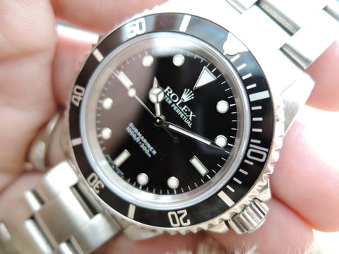 2000 Rolex SUBMARINER 14060 with Box and Paper