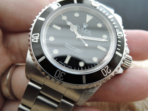 1998 Rolex SUBMARINER (No Date) 14060 with Black Bezel