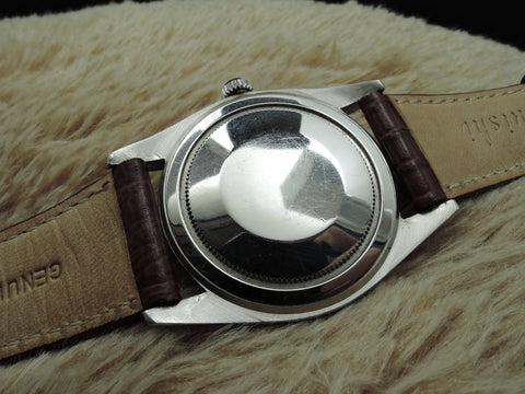 1961 Rolex OYSTER 6424 Original Silver Dial (36mm) BIG OYSTER RARE
