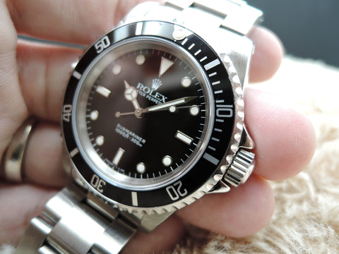 1996 Rolex SUBMARINER 14060 with Box and Paper