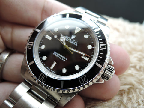 2000 Rolex SUBMARINER 14060M Black Dial Black Bezel Mint
