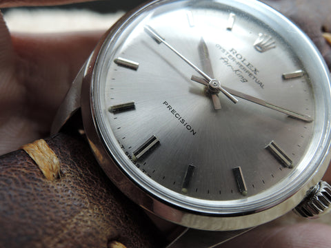 1962 Rolex AIR KING 5500 with Original Light Grey Dial