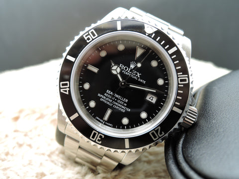 2009 Rolex SEA DWELLER 16600 Full Set (M Serial) with Box and PAPER Like New
