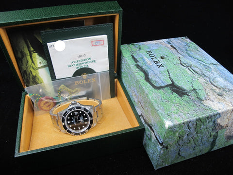 [1998] Rolex SUBMARINER 16610 (T25 Dial) with Box and Paper