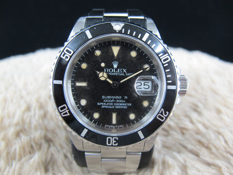 [1985] Rolex SUBMARINER 16800 Tropical Dial with Egg Shell Patina