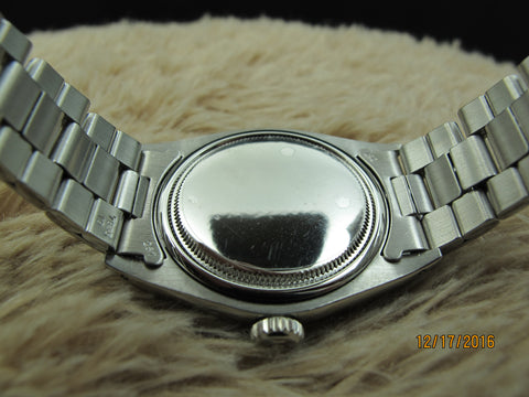 1969 Rolex OYSTER 6426 with Original Silver (no Lume) Dial and Paper
