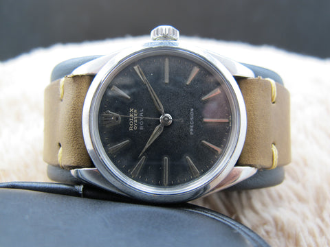 1959 Rolex OYSTER ROYAL 6426 Original Tropical Gilt Dial