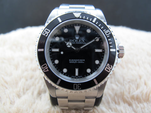 1999 Rolex SUBMARINER (No Date) 14060 with Black Bezel