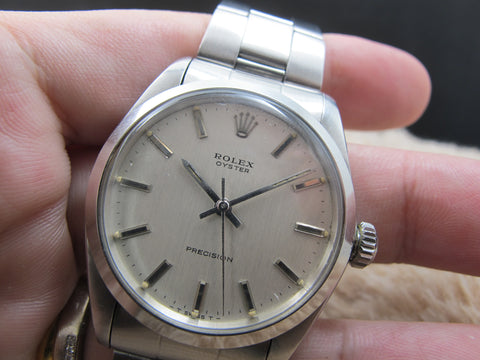 [1969] Rolex OYSTER 6426 with Original Silver Dial and Paper