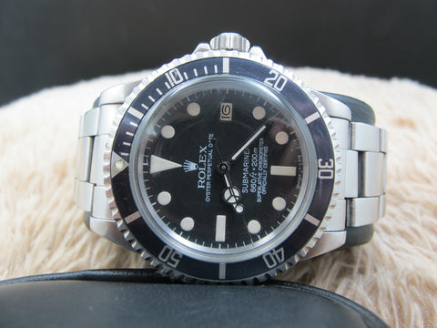 1977 Rolex SUBMARINER 1680 Matt Dial with Nice Patina and Domed Crystal