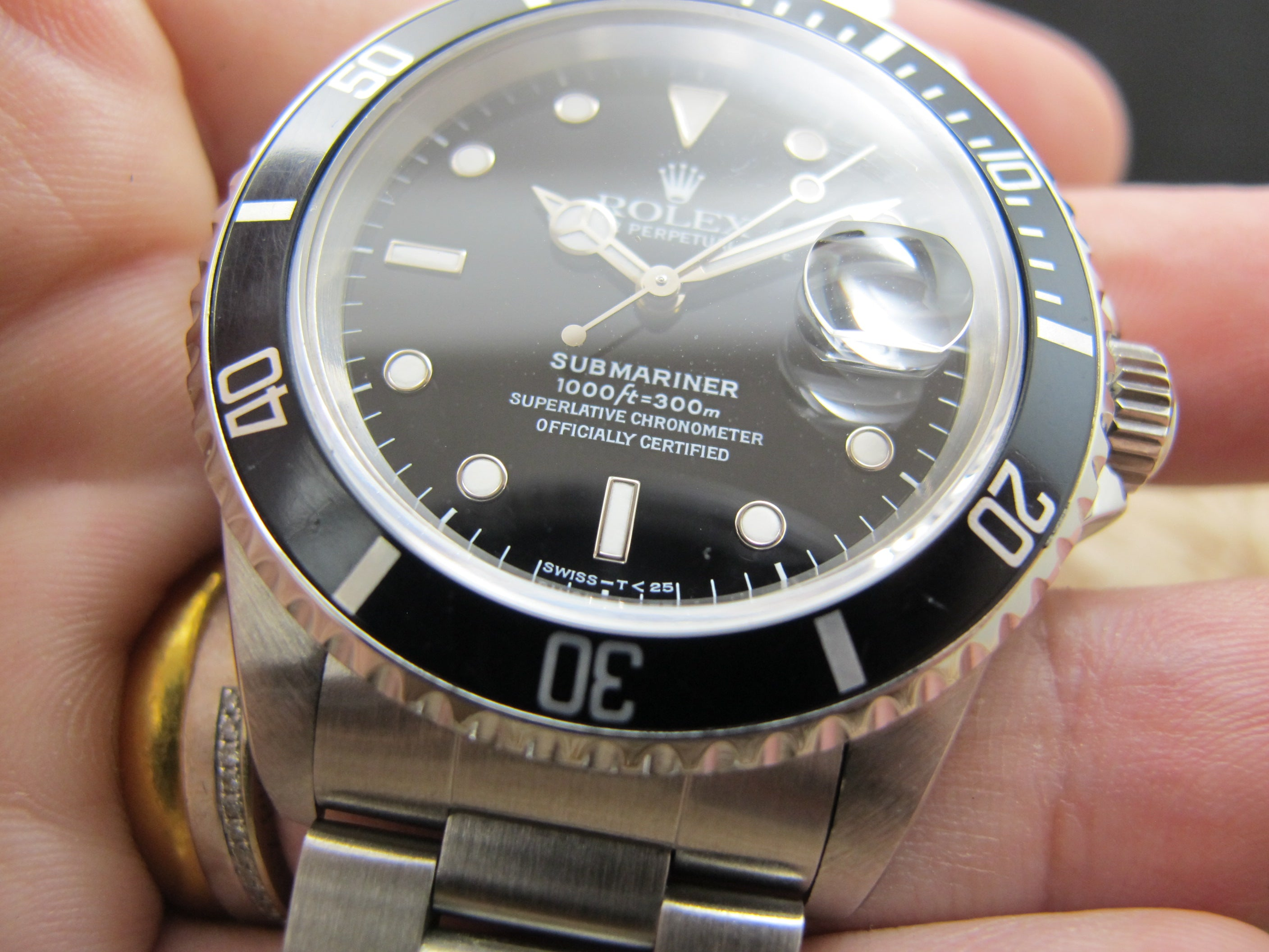 wah lightbox platinum wing ysc rolex product submariner watch