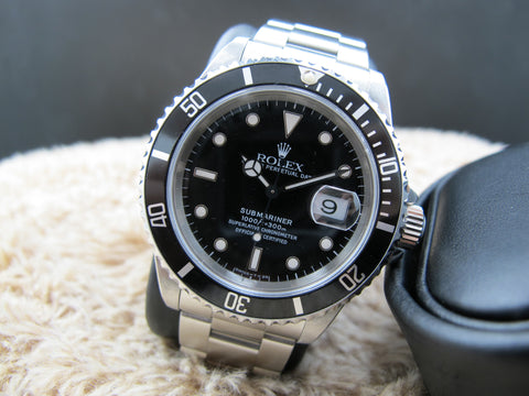 1997 Rolex SUBMARINER 16610 (T25 Dial) with Box and Paper