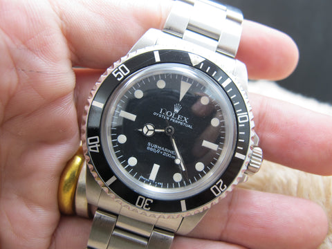 1983 Rolex SUBMARINER 5513 Maxi V Matt Dial with Box and Paper