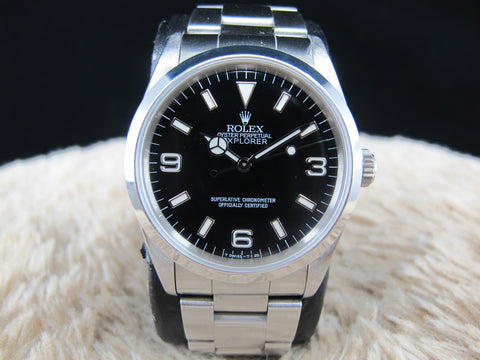 [1991]  Rolex EXPLORER 1 14270 with T25 Dial and Lug Holes Case