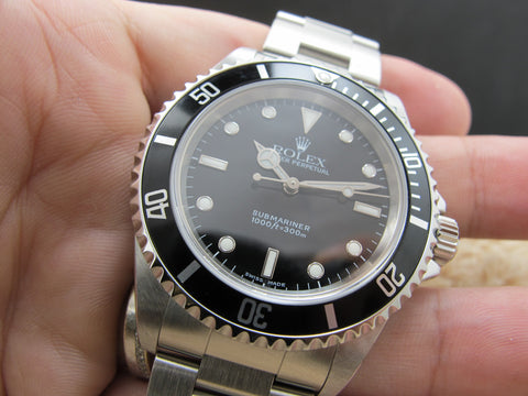 2001 Rolex SUBMARINER 14060M with Box and Paper