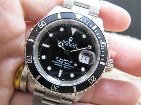 1995 Rolex SUBMARINER 16610 (T25 Dial) with Box and Paper