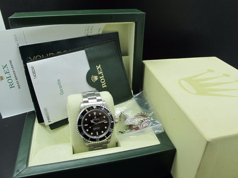 2004 Rolex SUBMARINER 14060M with Box and Paper and RSC Paper