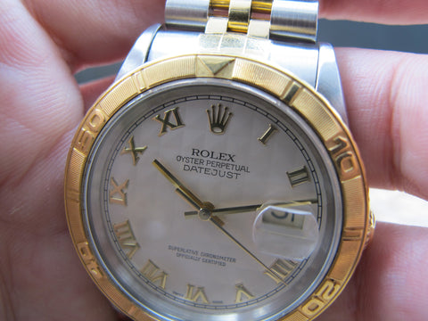 [1995] Rolex TURN-O-GRAPH 16263 ORIGINAL Pyramid Dial Full Set