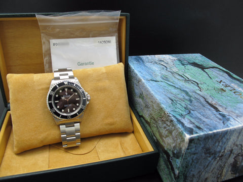 2004 Rolex SUBMARINER 14060M with Box and Paper