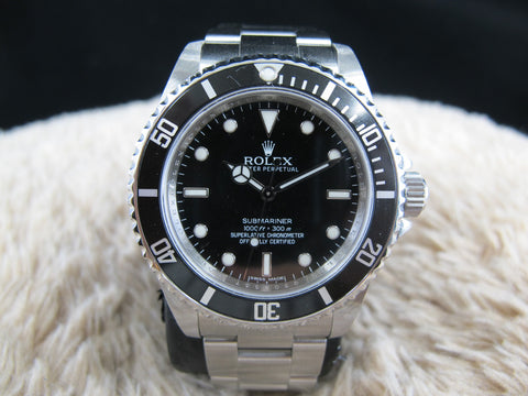 [2011] Rolex SUBMARINER 14060M 4 Liners with Full Set