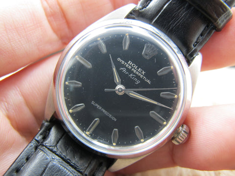 "1958 Rolex AIR KING 5500 ""Super Precision"" with Original Gilt Dial"