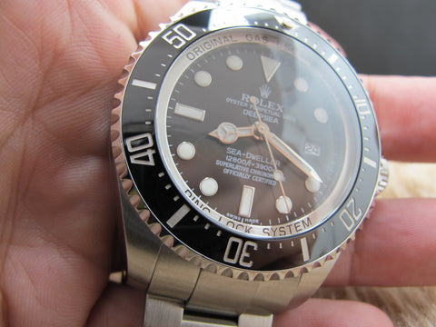 2008 Rolex DEEPSEA SEA DWELLER 116660 (Mark 1) Full Set